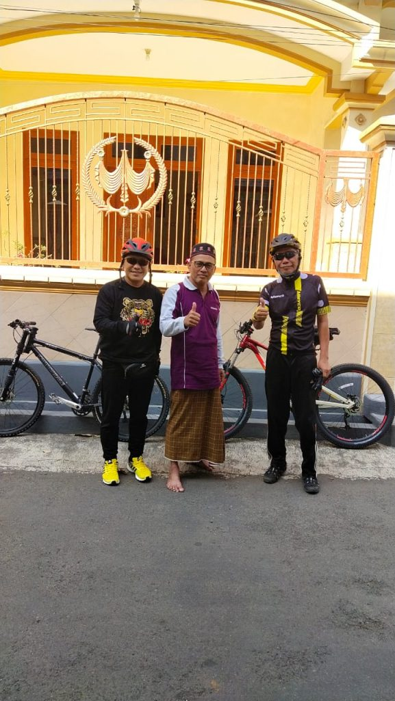 GossPro ke Dringu, Gowes dan Silaturrahmi ke kediaman bapak KABAG TU Kanwil Kemenag Jatim