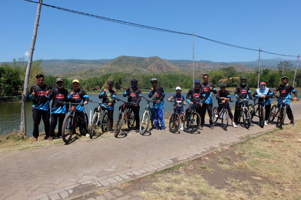 Para Rider GossPro Community road to Bendungan Jatisari